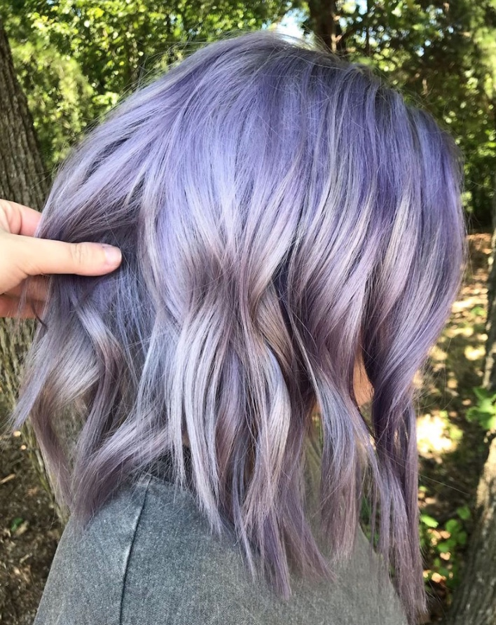 lavender orchid hair color